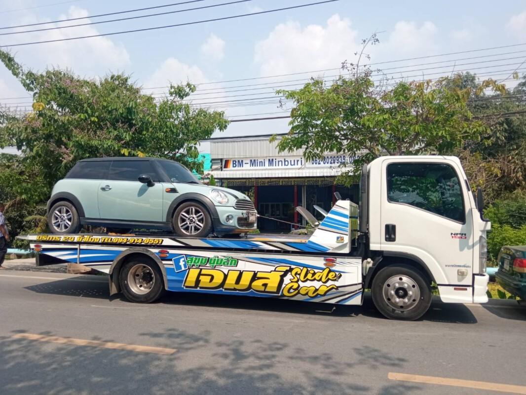 รถยกสันติสไลด์ออน.com บริการรถยกรถสไลด์นครนายก และ ทั่วประเทศ (46)